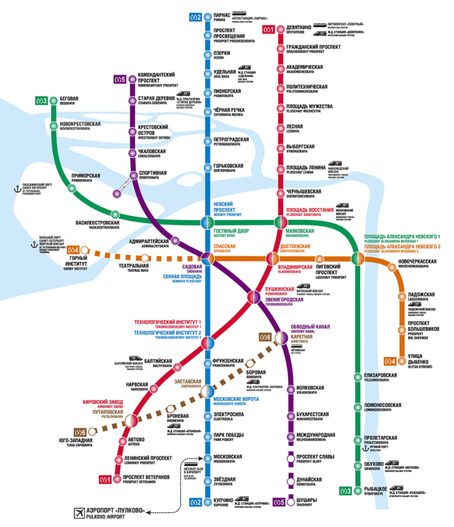 Доставка справок до станций метро Санкт-Петербурга -